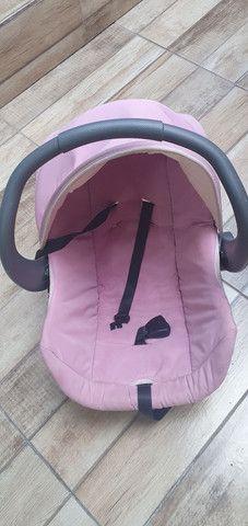Carrinho e bebê conforto Galzerano Milano Reversível R$370 reais - Foto 5