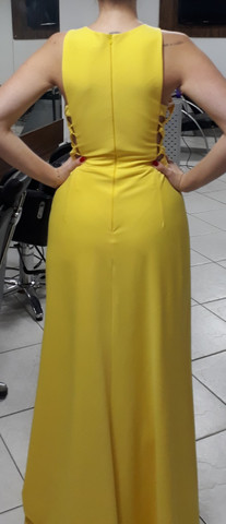 Vestido Longo Amarelo - Foto 3