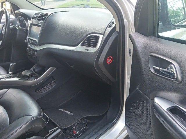 Dodge Journey 2012 Blindada n3a Sxt 3.6 v6 7lug aut+tip+toplinha+novíssima!!! - Foto 14