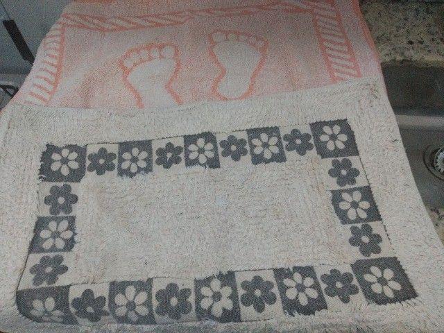 Kit de tapetes entrada da casa, cozinha e banheiro  - Foto 2