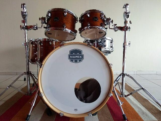 Vendo Bateria Mapex Armory Studioease Walnut Maple e Birch