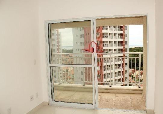 Apto na Ponta Negra, Integrado ao Shopping, 67m² 2 qts, 1 Vaga, Depósito, Gerador 100%