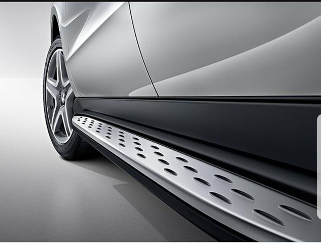 Jogo de Estribos para veículos Mercedes ML 350 e GLE