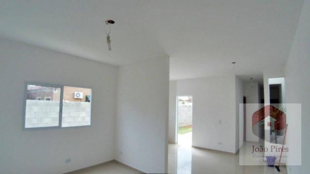 Casa com 2 dormitórios à venda, 70 m² por r$ 270.000 - jardim das gaivotas - caraguatatuba - Foto 4