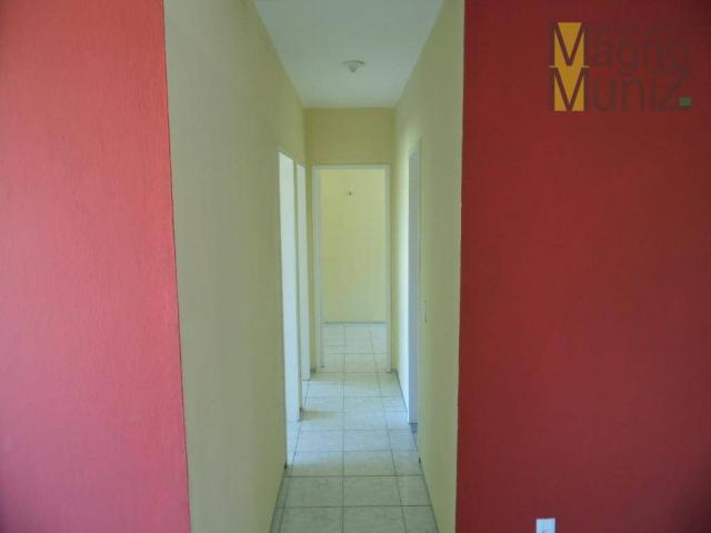 Edifício villagio água fria - apartamento para alugar no edson queiroz, fortaleza - ap0069 - Foto 4