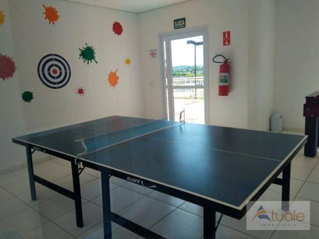 Apartamento com 2 dormitórios à venda ou locação, 57 m² - Residencial Viva Vista - Sumaré/ - Foto 20