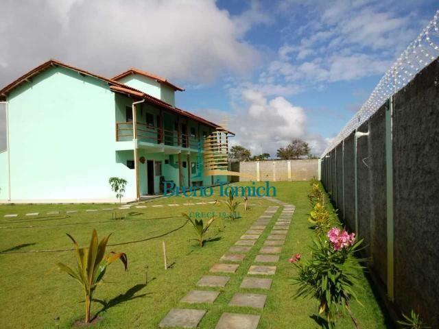 Pousada com 6 dormitórios à venda, 413 m² por r$ 799.000 - coroa vermelha - porto seguro/b - Foto 20