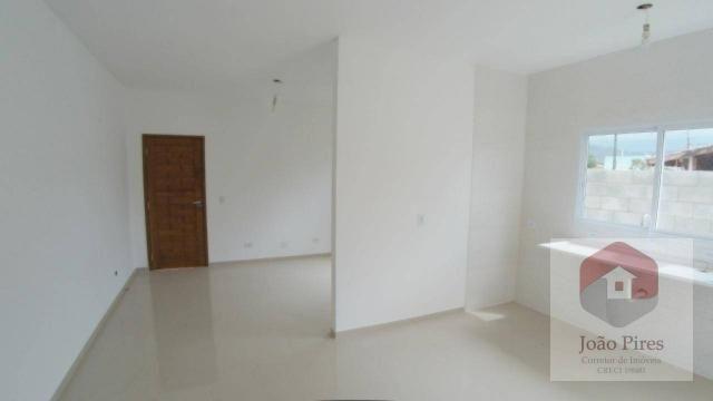 Casa com 2 dormitórios à venda, 70 m² por r$ 270.000 - jardim das gaivotas - caraguatatuba - Foto 6