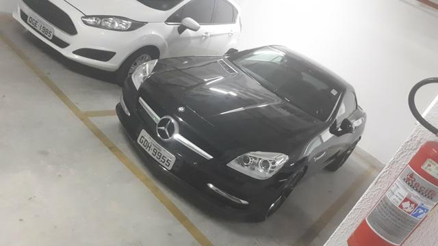 Extra única slk 250 preta 2013 diferenciada