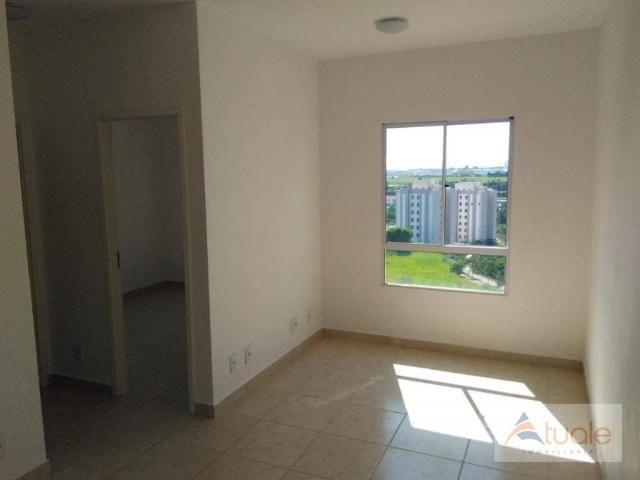Apartamento com 2 dormitórios à venda ou locação, 57 m² - Residencial Viva Vista - Sumaré/ - Foto 3