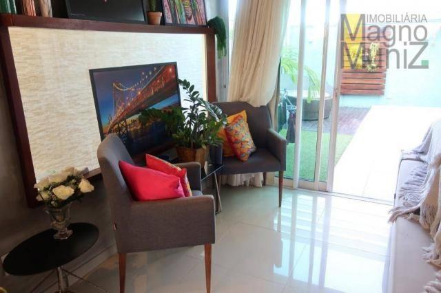 Casa duplex com 3 suítes projetadas para alugar, 140 m² por r$ 5.500/mês - praia do futuro - Foto 15