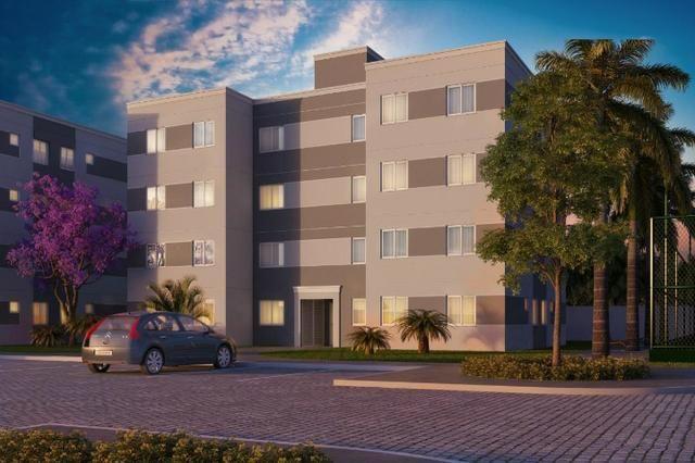 R$ 99.990 Apartamento de 2/4, no Jardim Europa - Condomínio Madrid - Feira de Santana