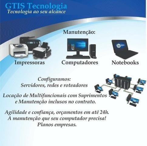 Assistência Técnica - Computadores, Impressora e Multifuncionais