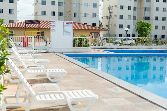 ALUGO - Apartamento Cond. Clube Ouro Negro - Foto 6
