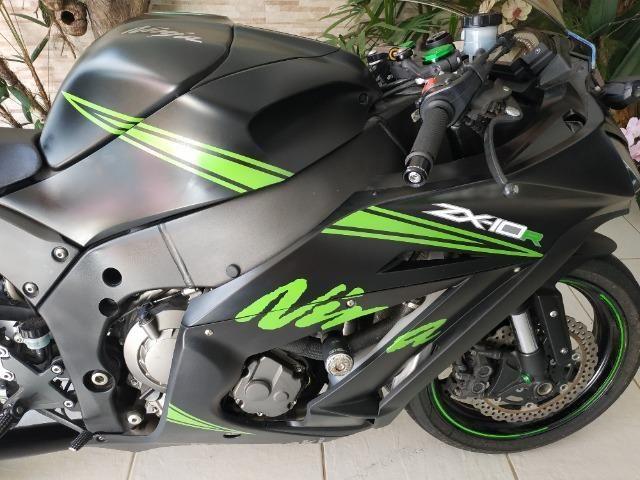Moto Kawasaki Ninja ZX10R ZX-10R 2015 - Foto 10