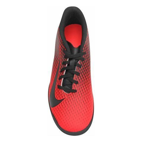 4e48576cf2 ... Chuteira Society Nike Bravata 2 TF Masculina - Vermelho e Preto .