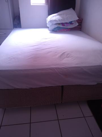 Cama box queem