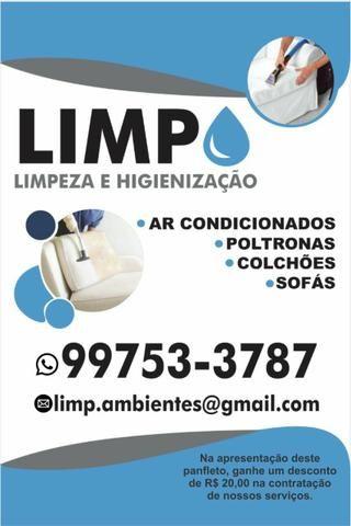 LIMP - limpeza ecológica