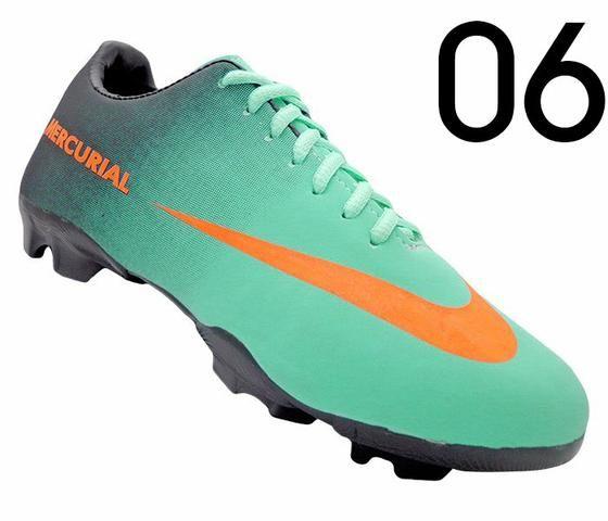 83853085ec04a Chuteira Campo Nike Mercurial - Grade Fechada com 12 Pares - Roupas ...