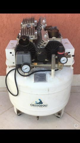 Compressor de ar odontológico - leia o anúncio