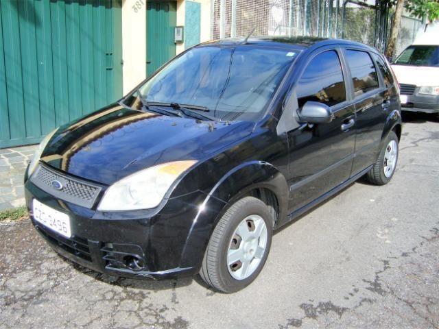 Ford Fiesta class flex 4 portas troco carro mais caro - Foto 8