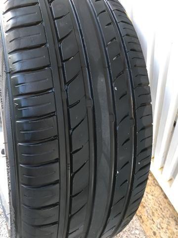 Rodas aro 18 com pneus novos! - Foto 2