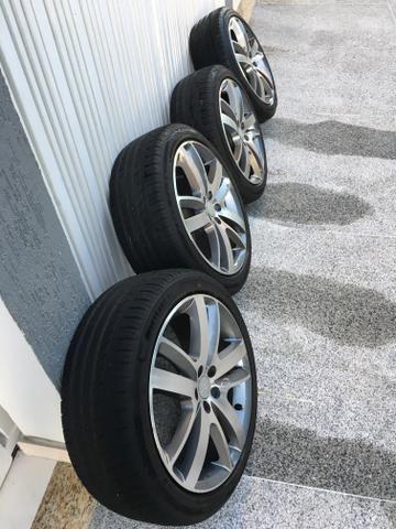 Rodas aro 18 com pneus novos! - Foto 3