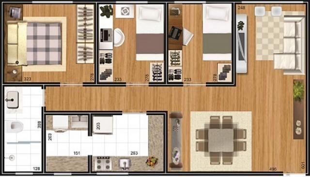 Apartamento à venda, 68 m² por r$ 225.000,00 - ecoville - curitiba/pr - Foto 10