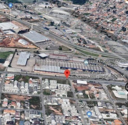 Terreno à venda, 510 m² por r$ 430.000,00 - atuba - curitiba/pr