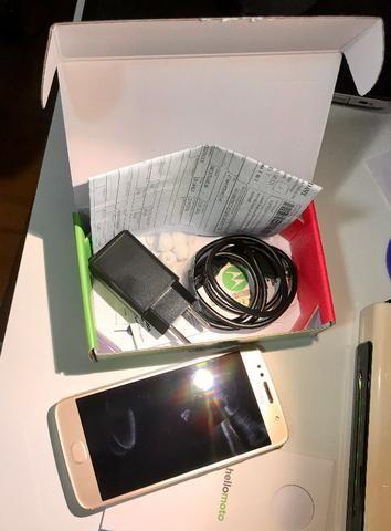 Celular Motorola G5S em estado de novo - Foto 2