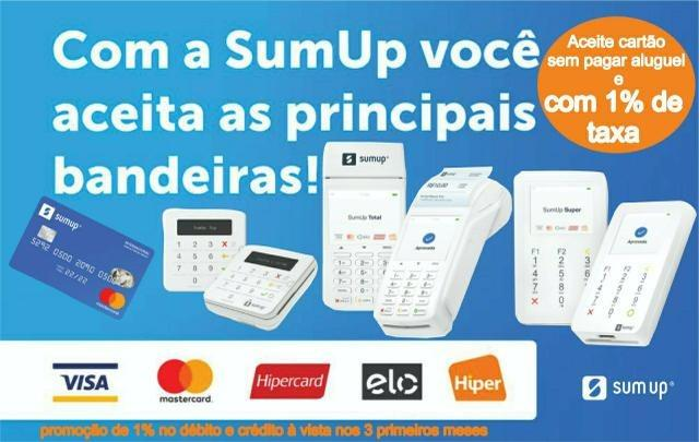 Máquina de Cartão de Crédito SumUp (Novo na caixa lacrada) - Foto 2