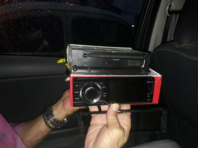 Radio automotivo pioneer novinho
