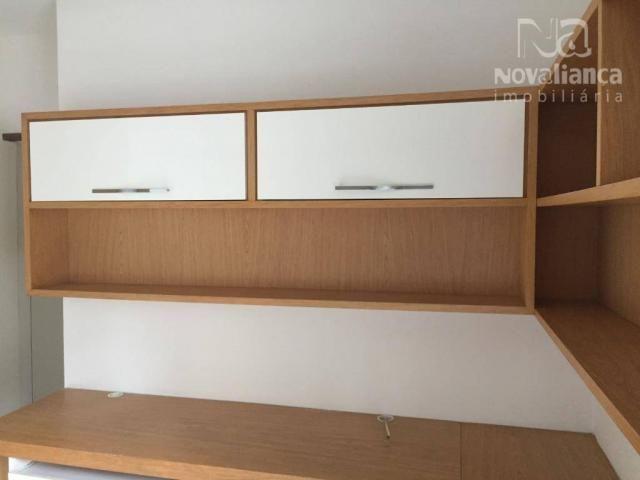Apartamento com 3 quartos para alugar, 110 m² por R$ 1.200/mês - Praia da Costa - Vila Vel - Foto 20