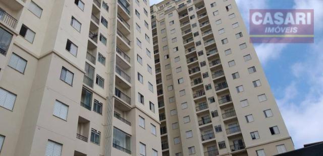 Apartamento com 2 dormitórios à venda, 54 m² - centro - são bernardo do campo/sp