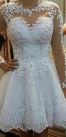 Vestido de noiva contato : *