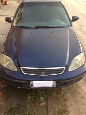 Honda Civic 2000 venda ou troca - Foto 5