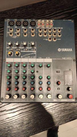Yamaha Mg-102 Mesa De Audio Som Mixagem 10 Canais<br><br> - Foto 2