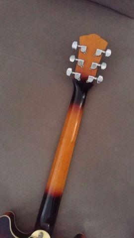 Guitarra Hofma Semi-Acustica - Foto 4