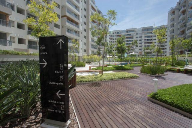 Apartamento 3 Quartos com Suíte Lavabo Varanda Sacada e Lazer RG Personal Recreio - Foto 2