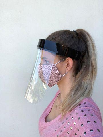 Máscaras de proteção acrílica tipo Face Shield