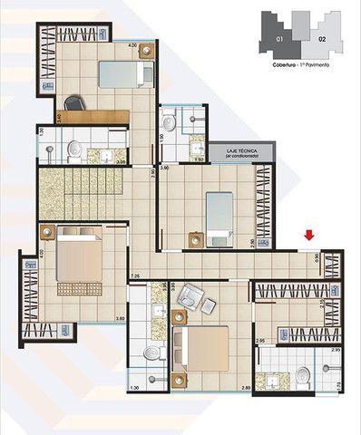 (J4) - Cobertura 4 quarto(s) para Venda no bairro Estrela Sul em Juiz de Fora - MG - Foto 5