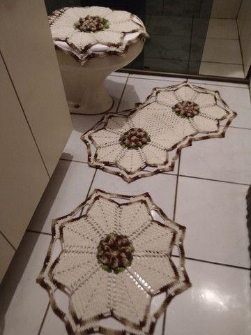 Tapetes em crochê  - Foto 6