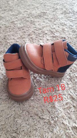 Calçados Tam 18 - Foto 2