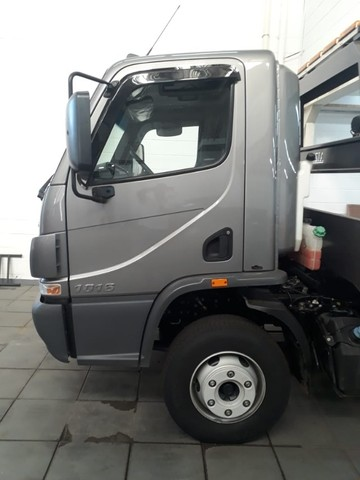 caminhão mb 1016, 2019, guincho plataforma, com 16.000 km.  - Foto 4