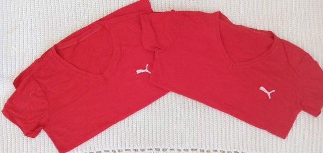 Tshirt  Blusa em Algodao - Foto 3