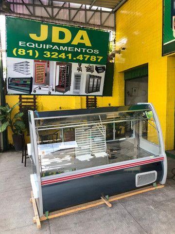 Balcão refrigerado para carnes em inox - supermercado / açougue  - gelopar  - Foto 5