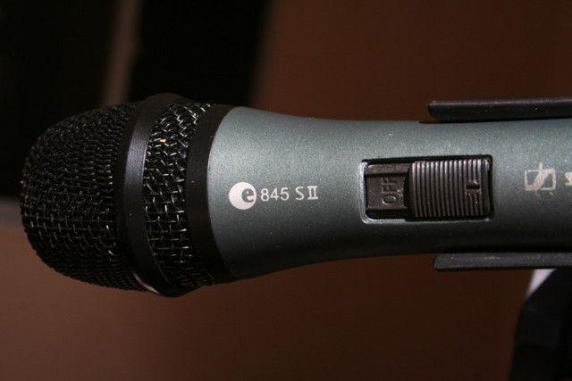 Microfone Sennheiser E835-s Ii - Profissional