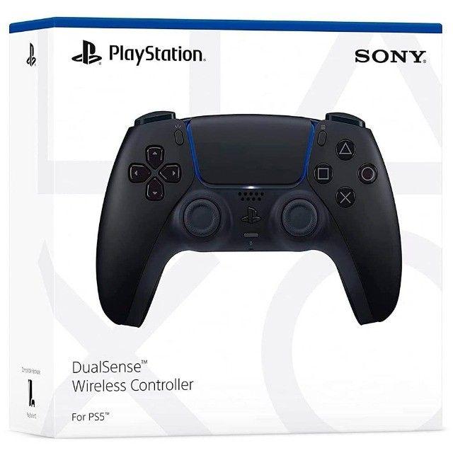 Controle Sem Fio DualSense Midnight Black PS5 ou 12X R$ 41,61 - Foto 2
