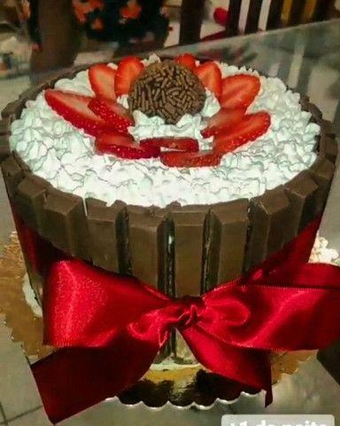 Festa na caixa, bolos e empadas - Foto 2
