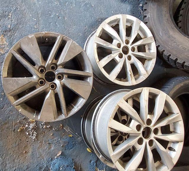 Rodas de alumínio usadas  - Foto 4
